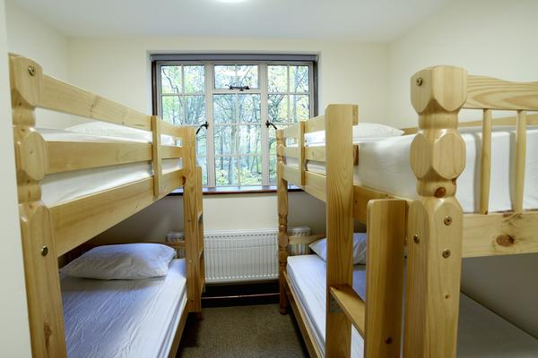 The two Ffennell Bunkrooms can sleep up to four people in bunk beds.