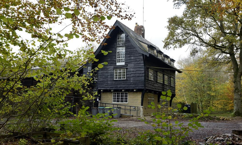 The Wytham Chalet is a converted Hunting Lodge